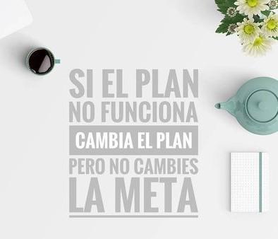 Si tu plan para tu búsqueda de empleo no funciona, cambia el plan, no la meta